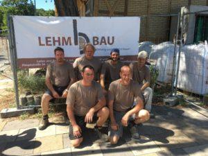 Das Team von Lehm und Bau